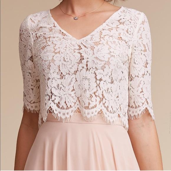 2905e279294 BHLDN Dresses   Skirts - BHLDN Jenny Yoo Libby Top - L - Ivory